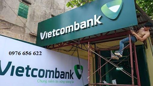 biển quảng cáo cho ngân hàng
